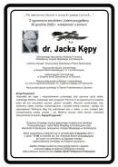 Nekrolog ś.p. J. Kępy